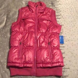 Finish Line Athletics 365 Pink Zip Puffer Vest